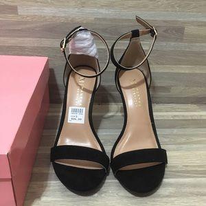 Martha Stewart High Black Heels